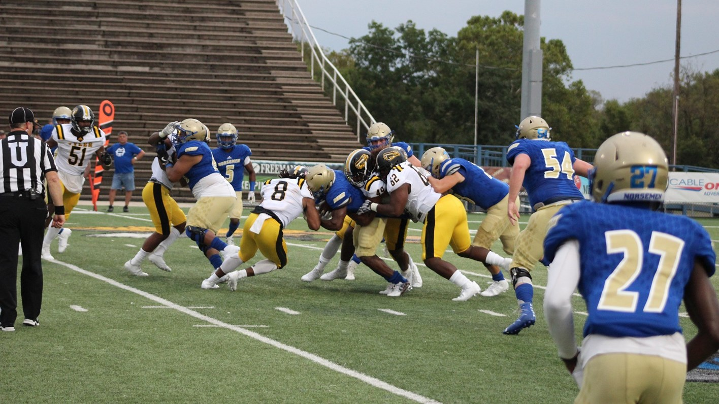 Norse Travel Up To Coffeyville Saturday Northeastern Oklahoma A M
